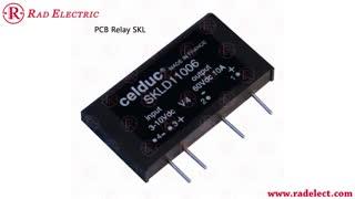 رله حالت جامد PCB Relays روبردی Celduc فرانسه