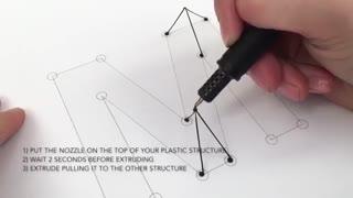 مداد 3 بعدی جالب ، آخر تکنولوژی