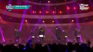 "super junior......150326 M! COUNTDOWN Super Junior D&E Sweater & Jeans -Breaking Up"""