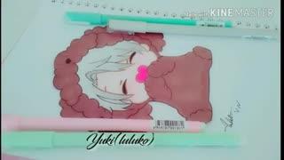 نقاشی من از چیبی ویکتور نیکیفورو(انیمه yuri!!!on ice)