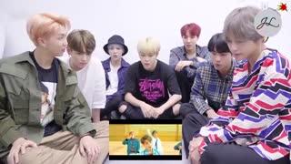 BTS....واکنش  بی تی اس به ام وی جدید خودشون ..موزیک ویدئو  DNA