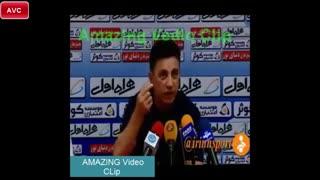 انتقاد قلعه نوعی از عادل فردوسی پور قبل بازی ذوب آهن-استقلال