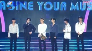 برد دسانگ اکسو exo  در مراسم Soba Best K-Music Awards