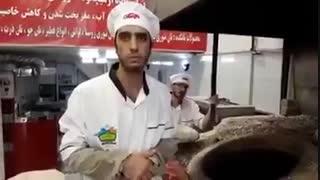 حرف های از دل برامده یک نانوا در ایران که انتظار داره صداش به گوش مسولین برسه
