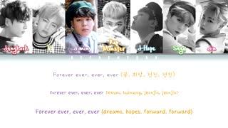 ♥ Epilogue ♥ لیریک آهنگ Young Forever از BTS