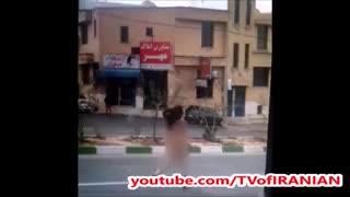 ماجرای دویدن دختر برهنه شیرازی در خیابان چه بود؟!