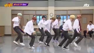 BTS ♥ پسرا تو یه برنامه رقص آهنگ DNA رو اجرا کردن وااای محشرهههههه