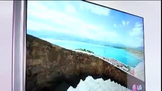 تلویزیون 3 بعدی 4K ال جی سری UB980 موجود در دی جی بانه