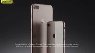 معرفی اپل آیفون 8 و 8 پلاس