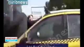 دستگیری راننده تاکسی دیوانه