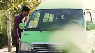 دوربین مخفی داخل یک ون؛ برخورد راننده و مسافران با مسافری که کیف پولش رو جاگذاشته