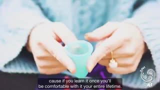 آموزش فارسی استفاده از فنجان قاعدگی و اطلاعات کاملی راجب آن