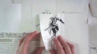 نقاشی متحرک و خلاقانه Assassin's Creed