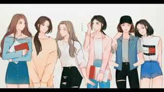 فن آرت زیبا از دختران ♥ BTS ♥ Love Yourself ♥