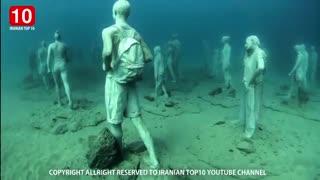 عجیب ترین موزه زیر آب در جهان