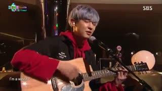 اجرای چانیول در برنامه ی جدید exo chanyeol-party people