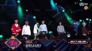 لحظه برد پسرا BTS برای موزیک ویدیو DNA * سپتامبر