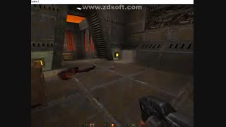 یه بخشی از گیم پلی خودم از بازی Quake 2