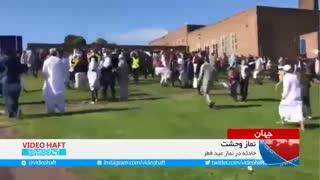 زن انگلیسی با خودرو، مسلمانان را زیر گرفت