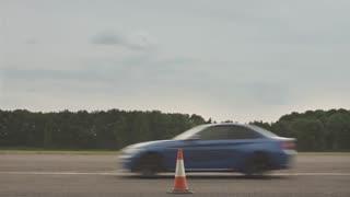 درگ فوق العاده بین BMW مدل های M2 و M4 و M5 و M6