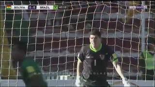 خلاصه بازی برزیل 0 - 0 بولیوی - HD