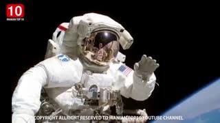 8 اتفاقی که تنها فضانوران تجربه میکنند