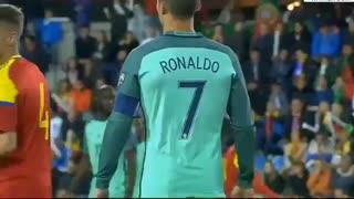 خلاصه بازی آندورا 0-2 پرتغال