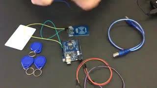 آموزش خواندن کدهای تگ RFID ماژول RC522 آردوینو Arduino