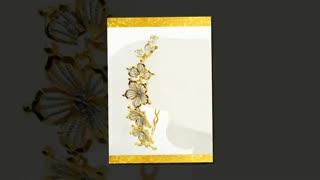 دستبند زنانه النگویی طرح طلا (فروشگاه بدلیجات زنانه و دخترانه)