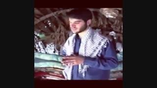 حاح میثم مطیعی در اردوی جهادی