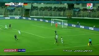 جام جهانی زیر17 سال؛ خلاصه بازی ایران 4 - آلمان 0