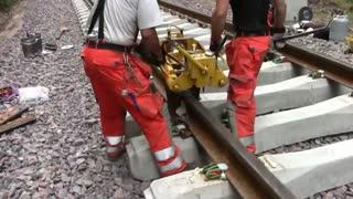 جوشکاری راه آهن با ترمیت