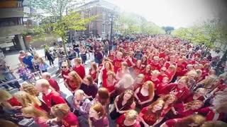 جشنواره مو قرمز ها  در هلند