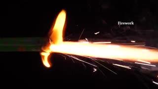 تصاویر اهسته بی نظیری از آتش