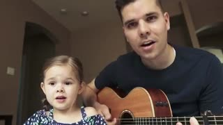 Look how cute this little girl is and how beautifully she sings. And enjoy
