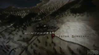 تیتراژ آغازین سریال بازی تاج و تخت - Game of Thrones