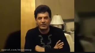 محمود شهریاری در اعتراض به اختلاس ریش خود را تراشید! - melidl.com