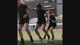 نادیه ندیم پناهجوی افغان که در دانمارک ستاره فوتبال شد