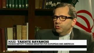 مصاحبه اختصاصی شبکه فرانسوی با مجید تخت روانچی معاون وزیر خارجه سال 2014