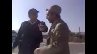 دعوای پلیس با راننده متخلف - ته خنده