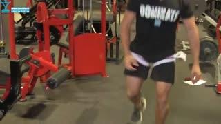 حرکت بدنسازی پشت پا و لانگ با تکنیک کاتسو