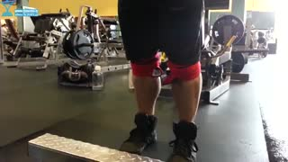 آموزش حرکت بدنسازی ساق با تکنیک کاتسو