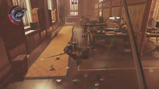 گیم پلی و هایلایت دیدنی از بازی dishonored death of the outsiders همراه موسیقی......